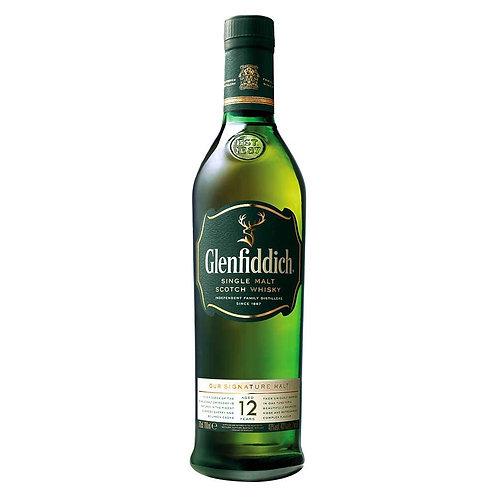 Whiskey Glenfiddich 12 años 750 Ml