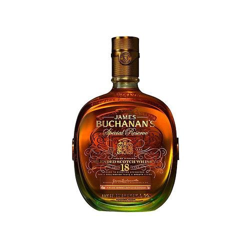 Whiskey Bucanan's 18 años 750 Ml