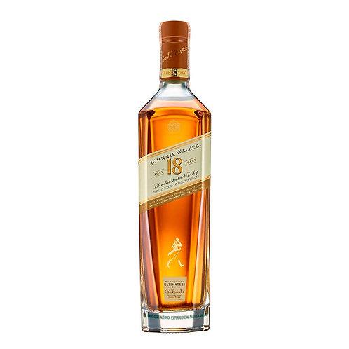 Whiskey Jonnie Walker 18 años 750 Ml