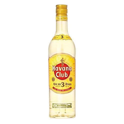 Ron Havana Cuba 3 años 750 Ml