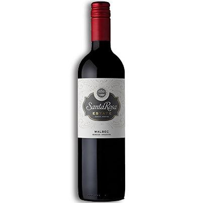 Vino Tinto Santa Rosa Malbec 750 Ml