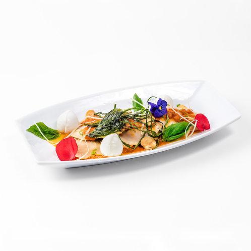 Raviolis de Carne con Salsa  Pomodoro