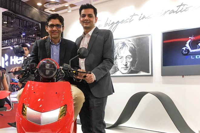 Praveen Kharb & Vijay Chandrawat at Auto Expo 2018