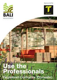 BALI Registered Contractor (domestic)