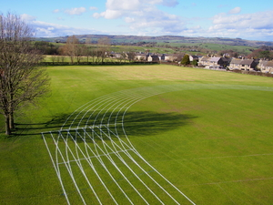 Sports Pitch Line Marking