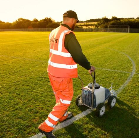 Sports Pitch Line Marking
