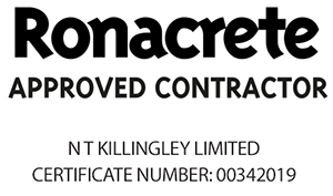 Ronacrete Approved Contractor