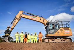CASE CX210D Excavator