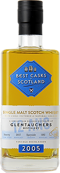 Whisky  Glentauchers 2005 Single Cask
