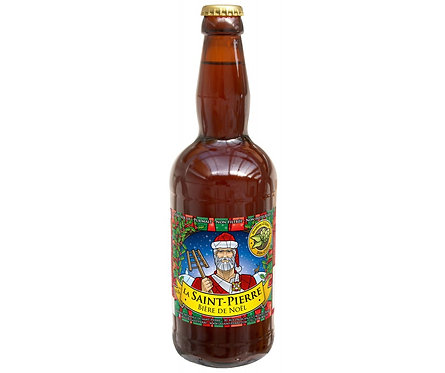 Bière de Noël ST Pierre