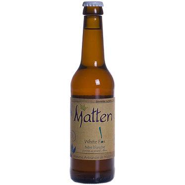 Bière White Fox de la Matten