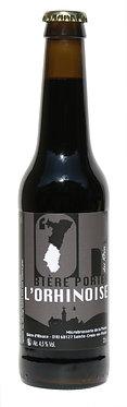 La bière Porter de L'Orhinoise
