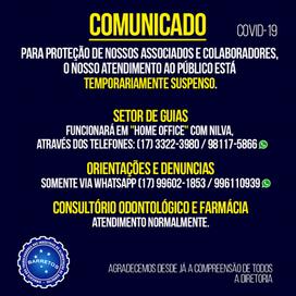 Prevenção - COVID19