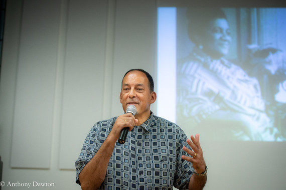 Hakim at the launch of Pan-Africanism: A History