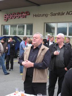 2008 | BrassBsuech bei Gasser AG