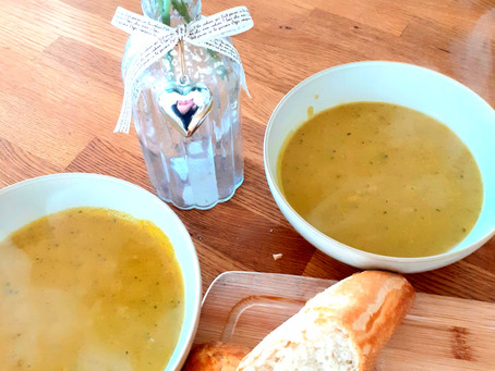 Courgette & Curry Soup Recipe