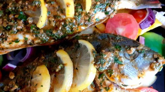 Oven Baked Sea Bream Recipe