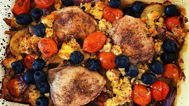 Greek One Pot Chicken Recipe