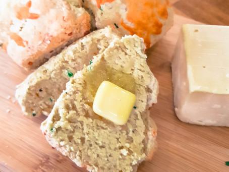 Rustic Cheese & Chive Scones Recipe