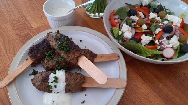 Moroccan Beef Koftas Recipe
