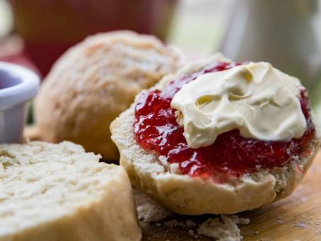 Homemade Sweet Scones & Jam Recipe