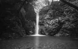 沢の池 滝