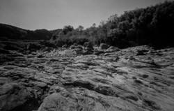 吉野川 芝崎の奇岩