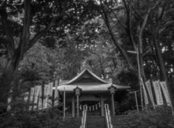 麻止豆天神社(おおまとのつのてんじんしゃ)東京都稲城市。