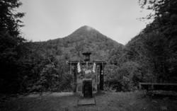 日室岳遥拝所