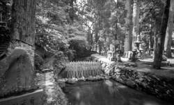 奥の院 空海廟、御廟橋