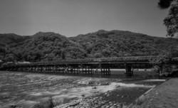 嵐山、渡月橋