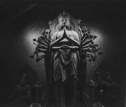 仙遊寺の秘仏、千手観音。