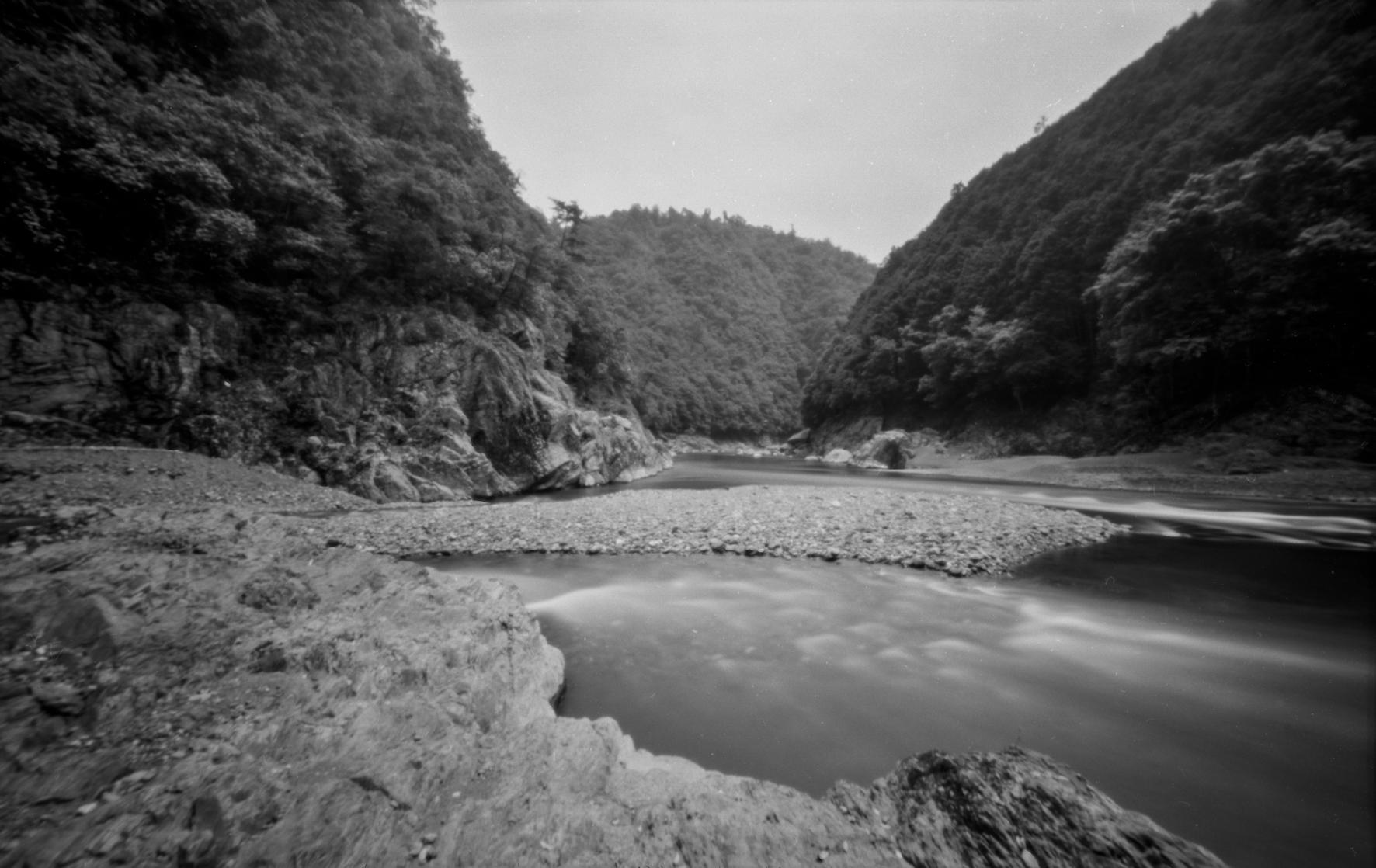 清滝川 桂川合流