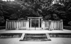 高野新笠の陵墓。