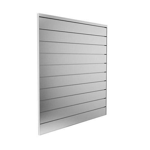 4 ft x 4 ft Aluminum Slatwall