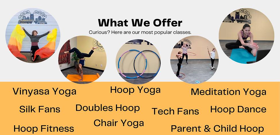 Nashville's only Hula Hoop & Hoop Yoga S