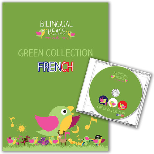 French - Green Collection (Book + CD)