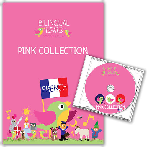 French - Pink Collection (Book + CD)