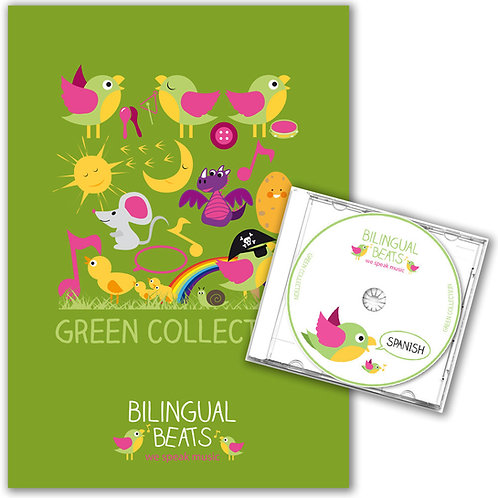 Spanish - Green Collection (Book + CD)
