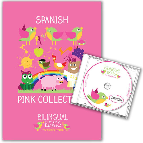 Spanish - Pink Collection (Book + CD)