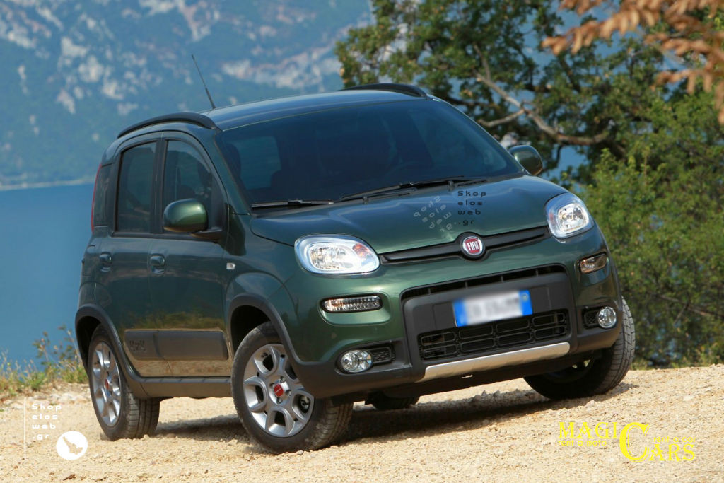CATEGORY C | FIAT PANDA 4X4 A/C / RADIO