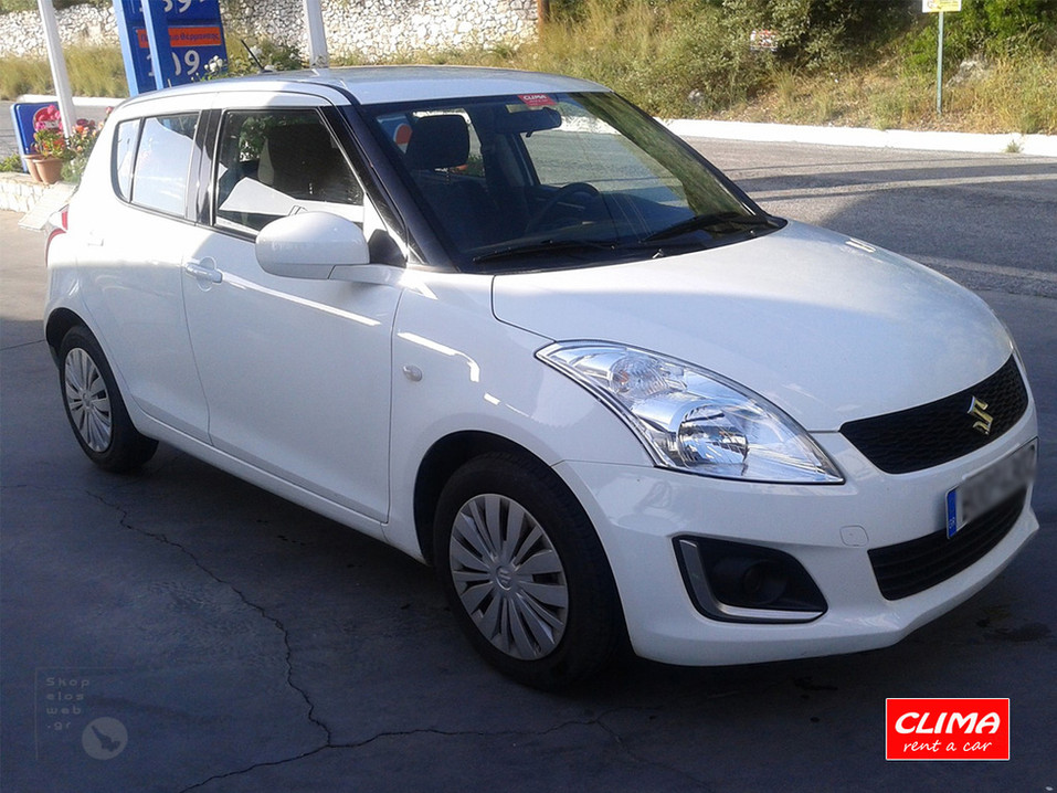 SKOPELOS CLIMA RENT CARS | GROUP B SUZUKI SWIFT | HIRE CARS SKOPELOS