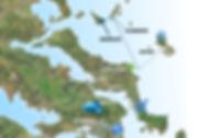 Αθήνα Χαλκίδα Εύβοια Κύμη Σποράδες