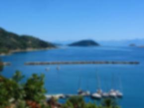 Σκόπελος λιμάνι Γλώσσας Λουτράκι