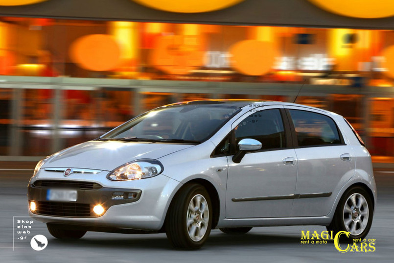 CATEGORY D | FIAT PUNTO DIESEL / A/C / RADIO