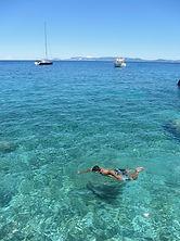 Σκόπελος κολύμπι γλαζοπράσινο Αιγαίο