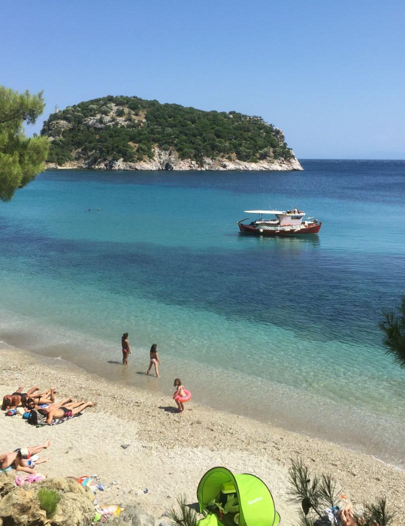Skopelos photos Stafylos beach