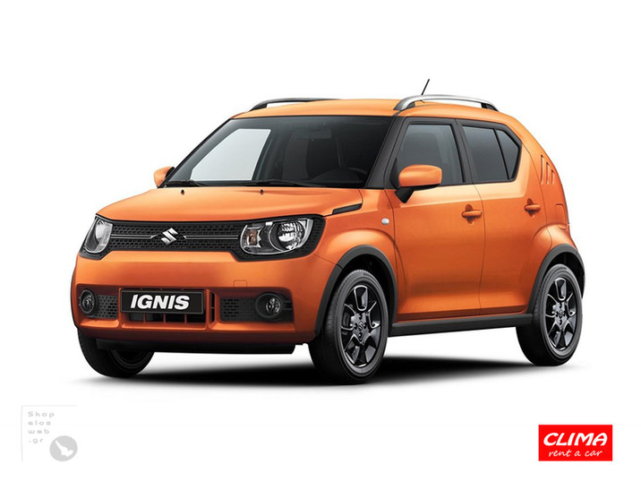 SKOPELOS CLIMA RENT CARS | GROUP C SUZUKI IGNIS | SKOPELOS RENT A CAR