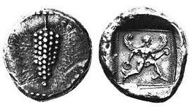 Αρχαία νομίσματα Σκοπέλου Πεπάρηθος