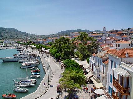 Skopelos Aegean beauty white and blue